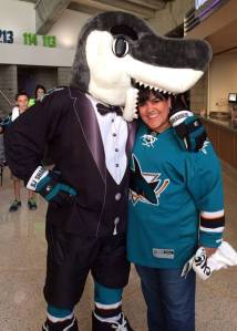 SJ Sharkie and me