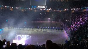 2013-2014 San Jose Sharks team presentation