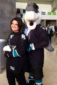 "Alexis and SJ Sharkie: GREAT ""prom"" picture"