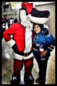 Santa SJ Sharkie!
