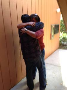 Nick and I's reunion