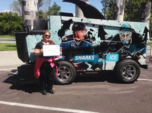 Lea by the Sharks Zamboni